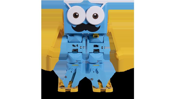 Настоящий программируемый робот с характером!